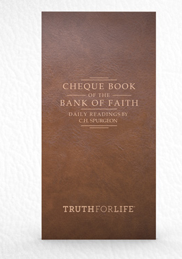Cheque Book of the Bank of Faith