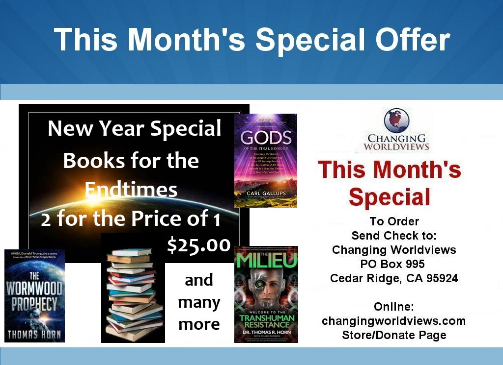 New Year Special -Books for the End Times 2 for 1