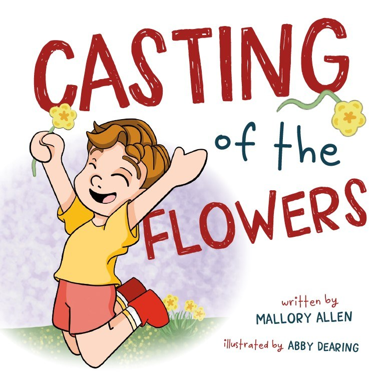 Casting of the Flowers Children's Book