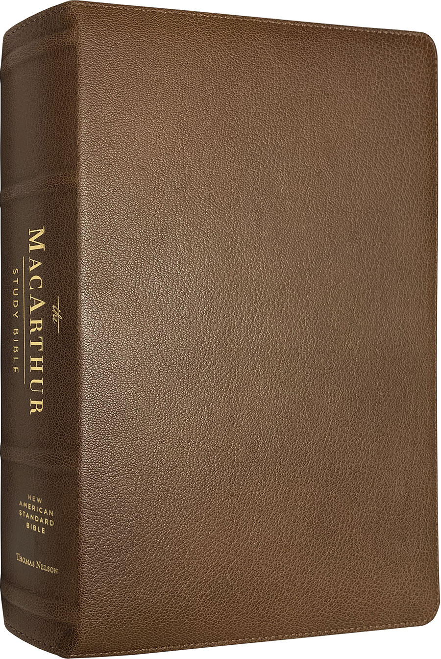 NAS MacArthur Study Bible (Second Edition) (Premium Leather)