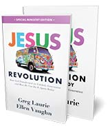 In thanks for your gift, you can receive Jesus Revolution - Book