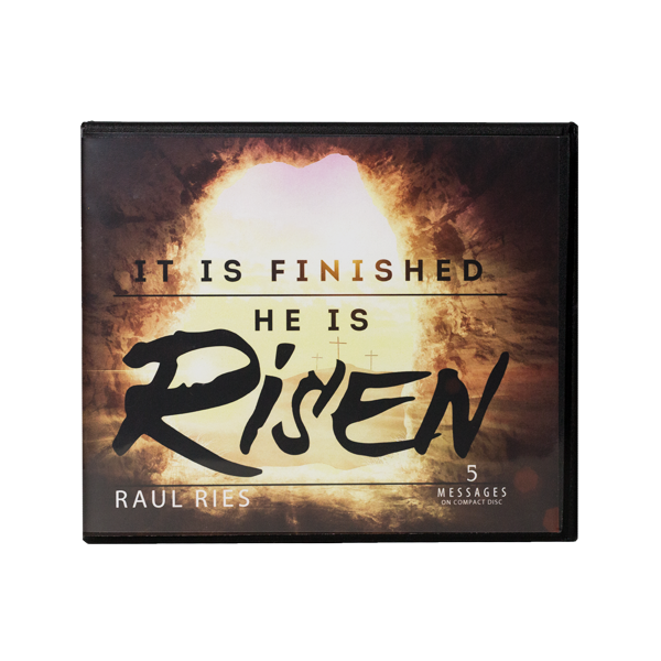 It is Finished: He is Risen