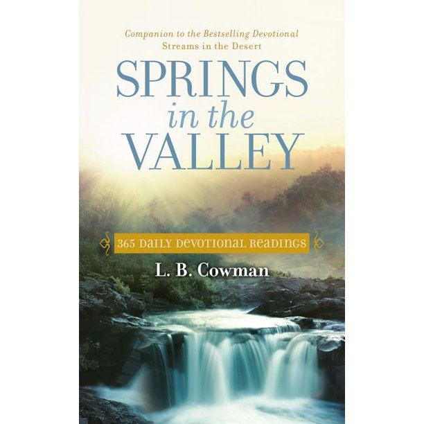 """Springs in the Valley"" by L.B. Cowman"