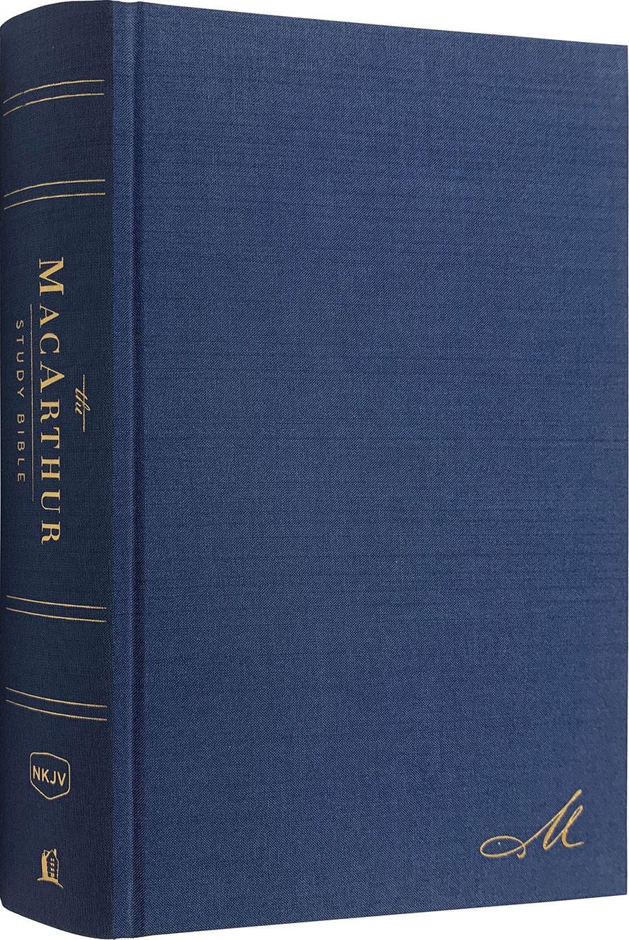 NKJV MacArthur Study Bible (Second Edition, Hardcover)