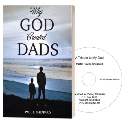 Why God Created Dads / A Tribute To My Dad book/CD combo