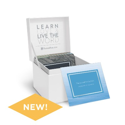 Life's Healing Choices Scripture Box with Scripture Cards
