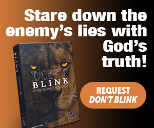 Stare down the enemy's lies with God's truth!