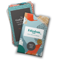 Freedom: Memory Verse Cards