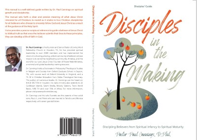 Disciples in the Making by Pastor Paul Cannings