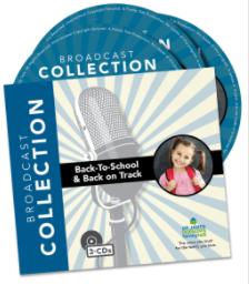 Back-to-School & Back on Track (3-CD Set) by Dr. James Dobson