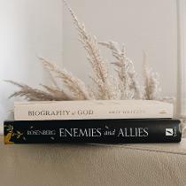 Enemies and Allies by Joel Rosenberg & Biography of God by Skip Heitzig